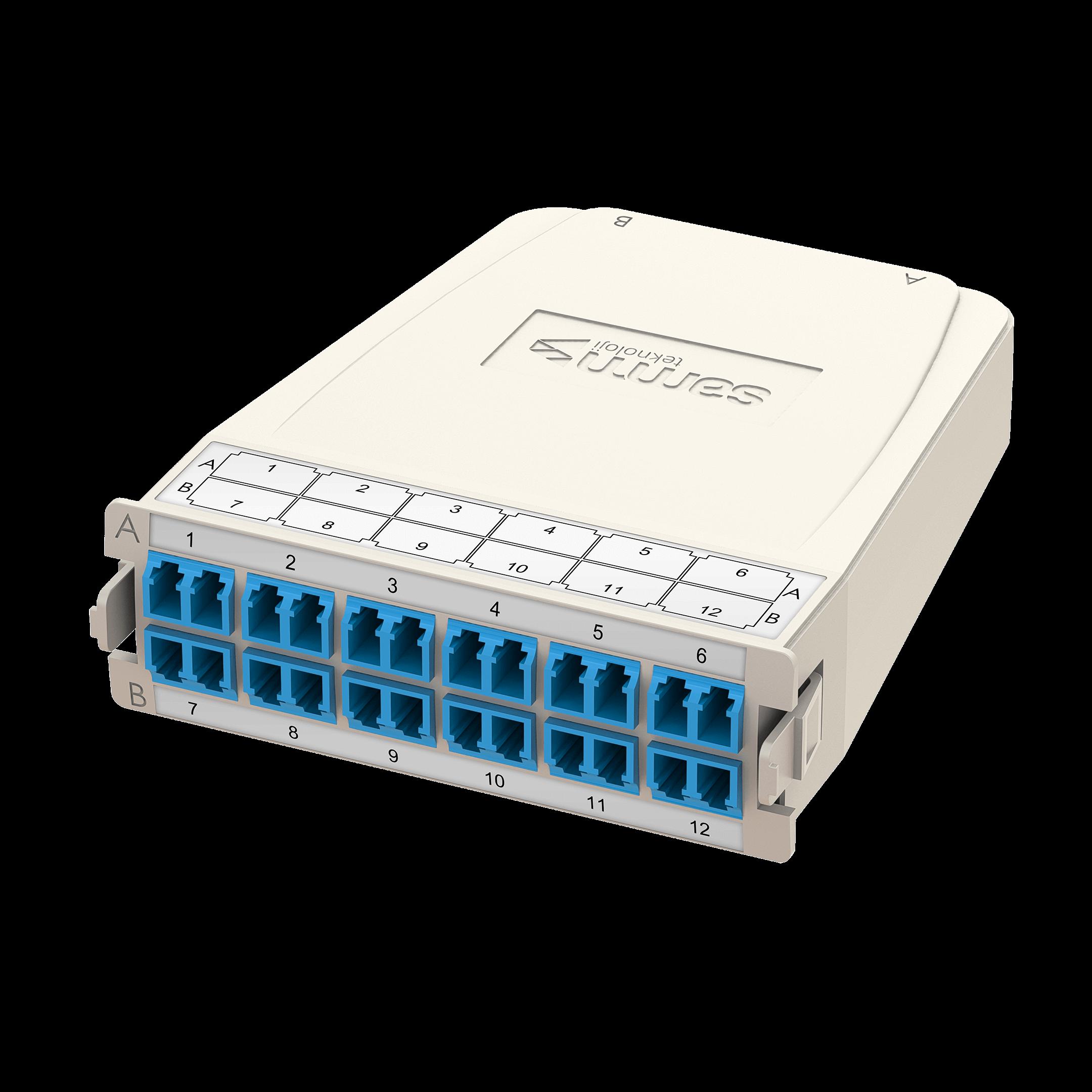Samm Teknoloji - HD MTP-LC Dönüşüm Kaseti | OS2 | 1xBase-24