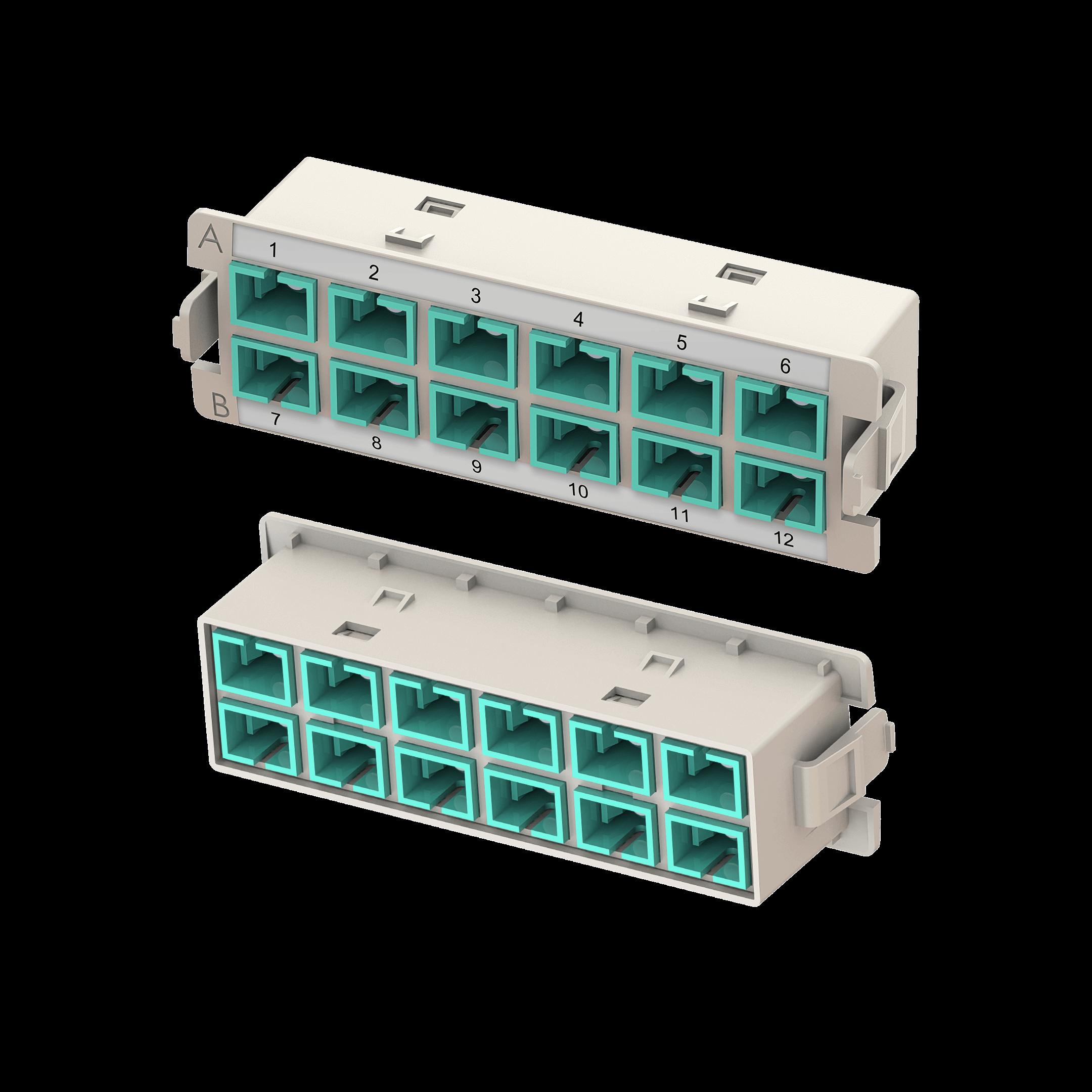 Samm Teknoloji - HD SC Adaptör Modülü | 12 SC (1)