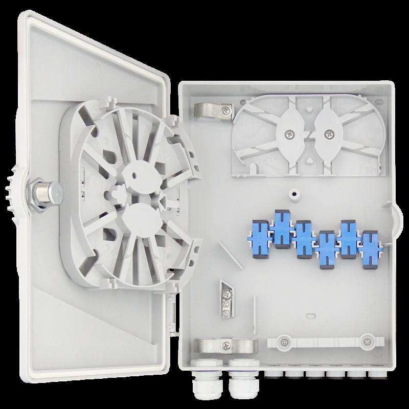 Samm Teknoloji - Indoor Termination Box | 12 Patch 12 Fibers 12 Ports (1)