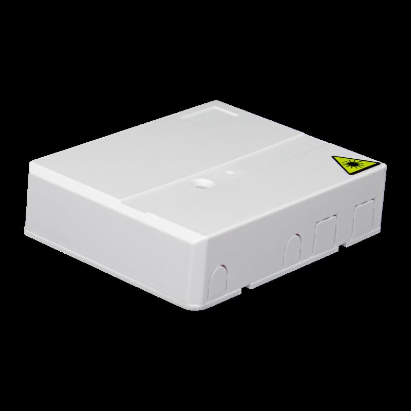 Samm Teknoloji - Indoor Termination Box   2 Patch 4 Fibers 2 Ports   Compact Design