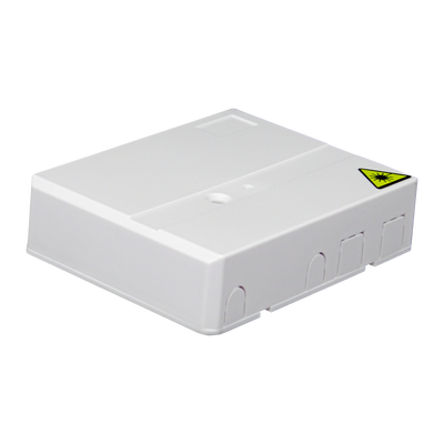 Samm Teknoloji - Indoor Termination Box | 2 Patch 4 Fibers 2 Ports | Compact Design