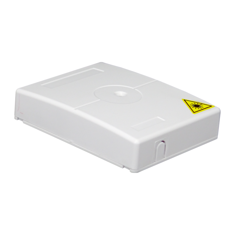 Samm Teknoloji - Indoor Termination Box   2 Patch 4 Fibers 2 Ports   Compact Vertical Design