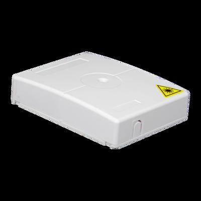 Samm Teknoloji - Indoor Termination Box | 2 Patch 4 Fibers 2 Ports | Compact Vertical Design