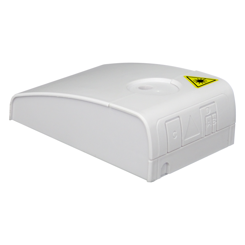 Samm Teknoloji - Indoor Termination Box   2 Patch Fiber+RJ45 Ports   Compact Design