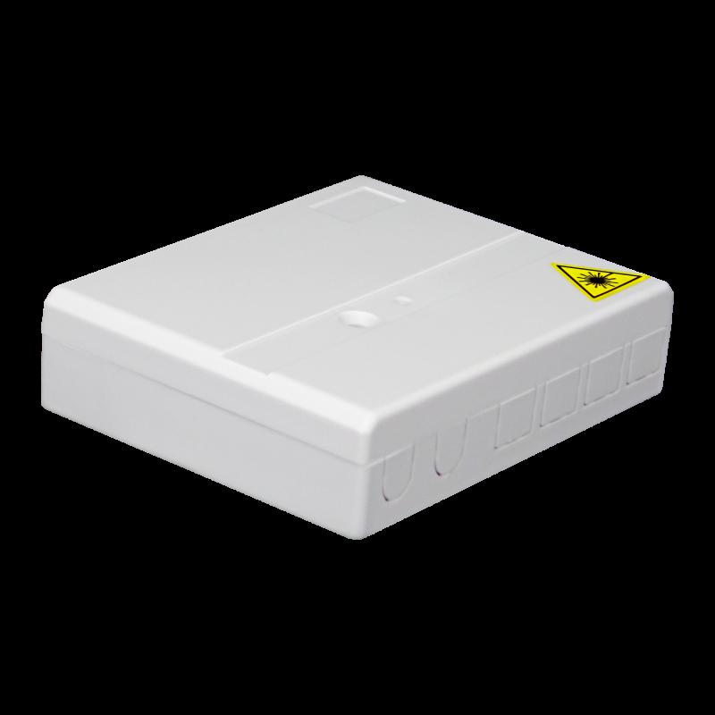 Samm Teknoloji - Indoor Termination Box | 4 Patch 4 Fibers 4 Ports | Compact Design