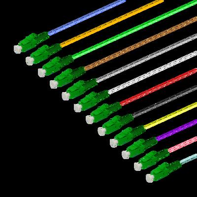 Samm Teknoloji - LC/APC 12 Fiber Pigtail   Single Mode G657.A2   0.9mm (1)