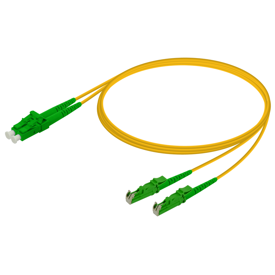 Samm Teknoloji - LC/APC-LSH/APC | Single Mode G657.A2 Duplex Patch Cord | 2.0x4.1mm