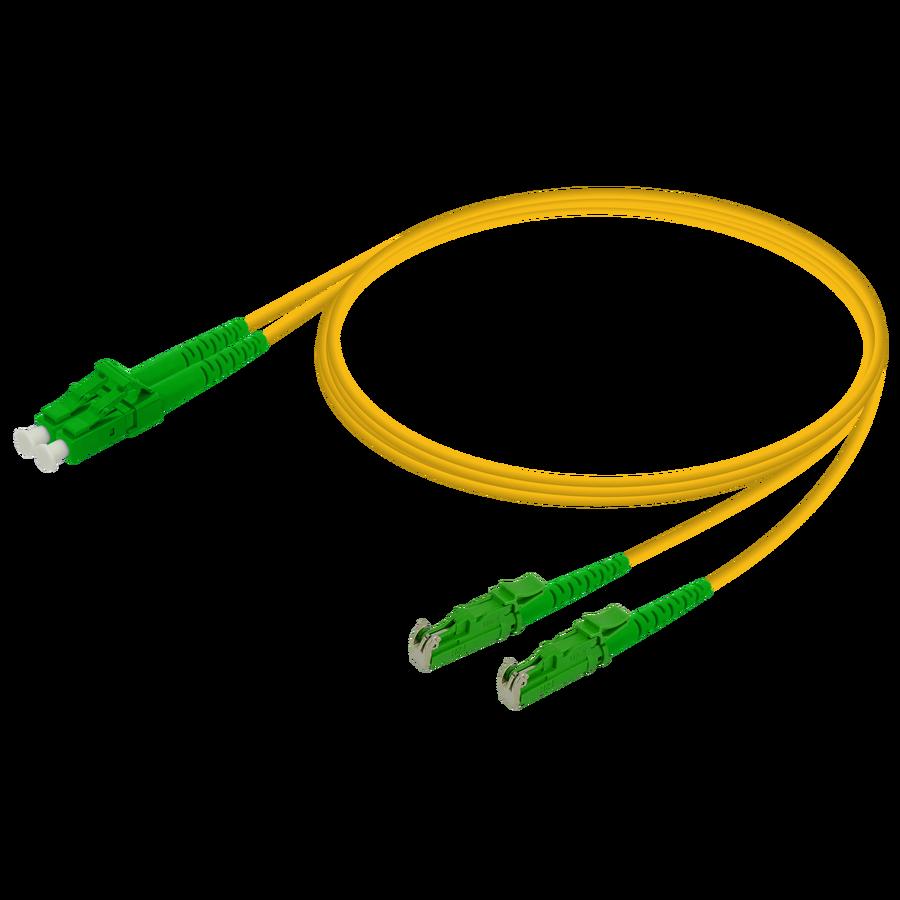 Samm Teknoloji - LC/APC-LSH/APC | Single Mode G657.A2 Duplex Patch Cord | 2.0x4.1mm