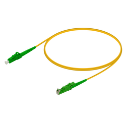 Samm Teknoloji - LC/APC-E2000/APC | Single Mode G657.A2 Simplex Patch Cord | 2.0mm