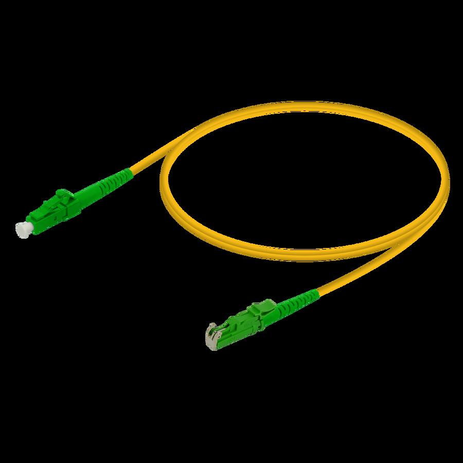 Samm Teknoloji - LC/APC-LSH/APC | Single Mode G657.A2 Simplex Patch Cord | 2.0mm