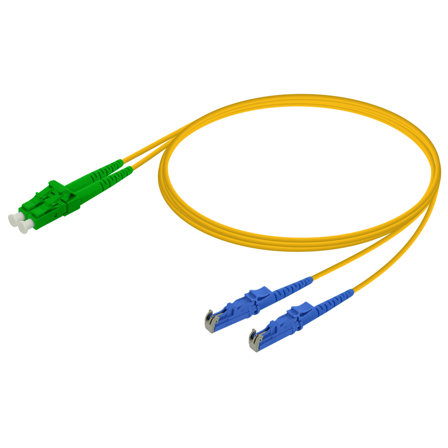 Samm Teknoloji - LC/APC-LSH/UPC | Single Mode G657.A2 Duplex Patch Cord | 2.0x4.1mm