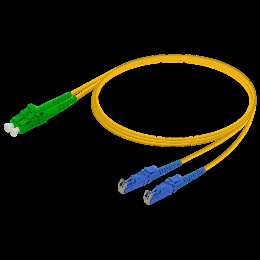 Samm Teknoloji - LC/APC-LSH/UPC | Single Mode G657.A2 Duplex Patch Cord | 2.0x4.1mm