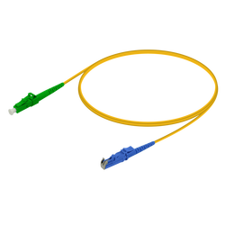 Samm Teknoloji - LC/APC-LSH/UPC | Single Mode G657.A2 Simplex Patch Cord | 2.0mm