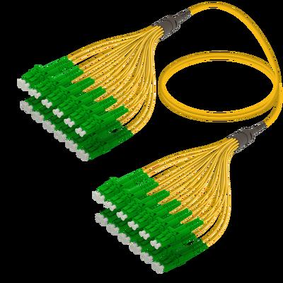 Samm Teknoloji - LC/APC-LC/APC | 24 Fiber Fanout | Single Mode G657.A2 | 3.0/1.8mm