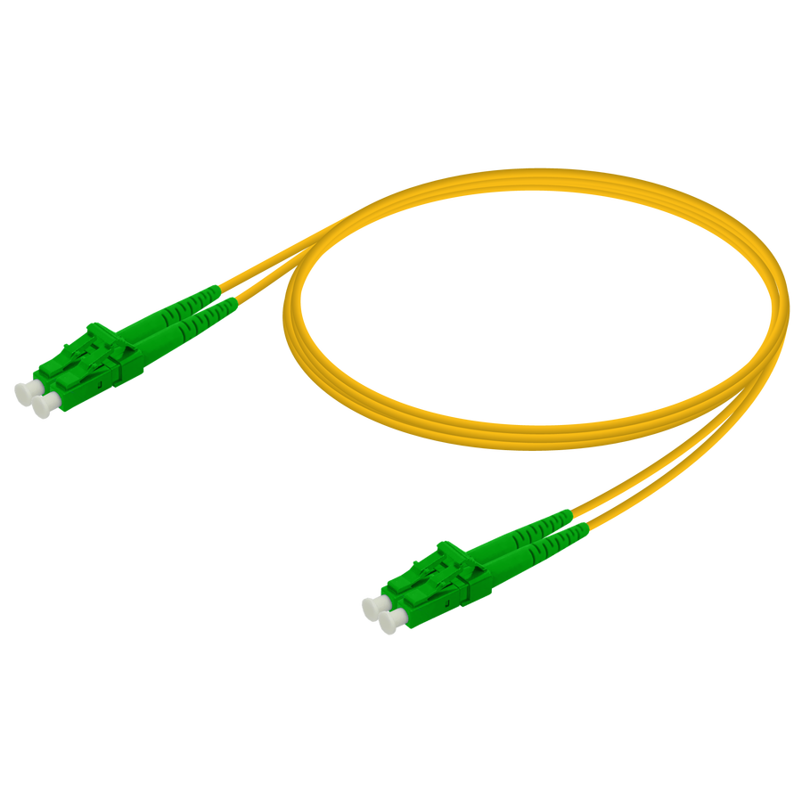 Samm Teknoloji - LC/APC-LC/APC | Single Mode G657.A2 Duplex Patch Cord | 2.0x4.1mm