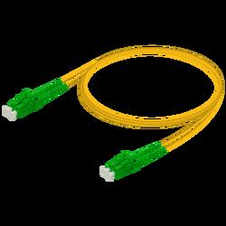 Samm Teknoloji - LC/APC-LC/APC | Single Mode G657.A2 Duplex Patch Cord | 2.0x4.1mm