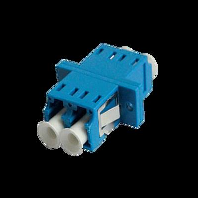 - LC Duplex Adapter | w/ Flange