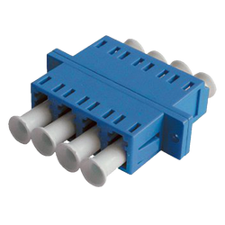 - LC Quad Adapter | w/ Flange