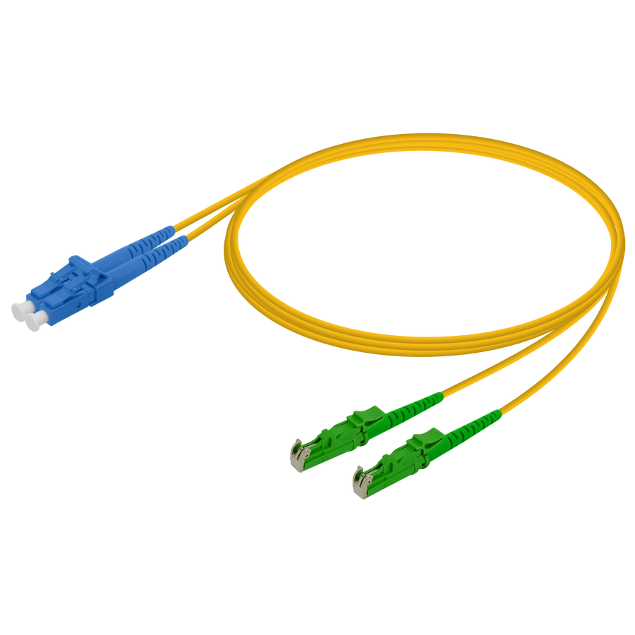 Samm Teknoloji - LC/UPC-LSH/APC | Single Mode G657.A2 Duplex Patch Cord | 2.0x4.1mm