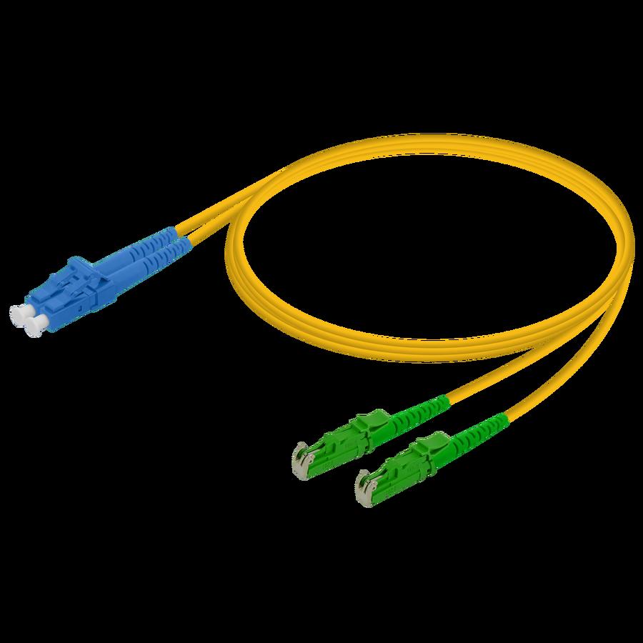 Samm Teknoloji - LC/UPC-LSH/APC | Single Mode G657.A2 Duplex Patch Cord | 2.0x4.1mm