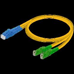 Samm Teknoloji - LC/UPC-E2000/APC | Single Mode G657.A2 Duplex Patch Cord | 2.0x4.1mm