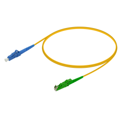Samm Teknoloji - LC/UPC-LSH/APC | Single Mode G657.A2 Simplex Patch Cord | 2.0mm