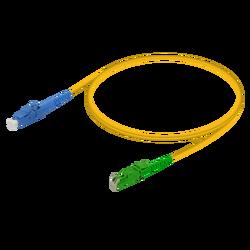 Samm Teknoloji - LC/UPC-E2000/APC | Single Mode G657.A2 Simplex Patch Cord | 2.0mm