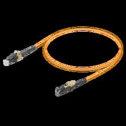 Samm Teknoloji - LC/UPC-LSH/UPC | Multi Mode G651.OM1 Simplex Patch Cord | 2.0mm