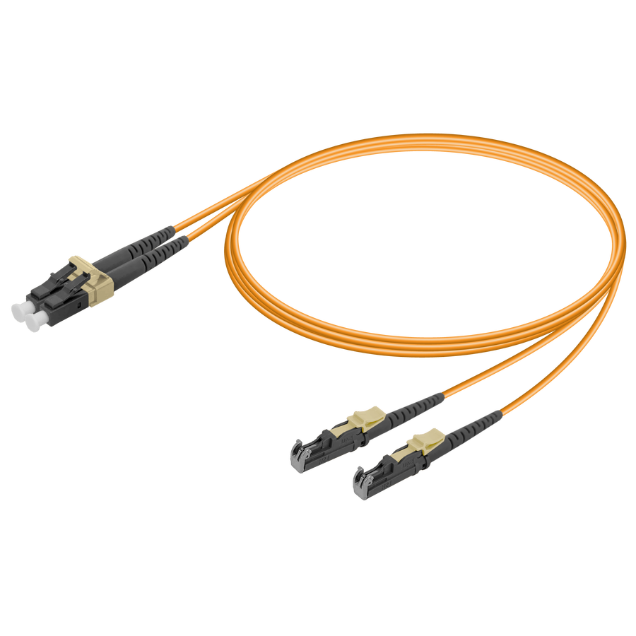 LC/UPC-LSH/UPC | Multi Mode G651.OM2 Duplex Patch Cord | 2.0x4.1mm