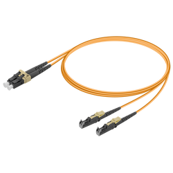 Samm Teknoloji - LC/UPC-LSH/UPC | Multi Mode G651.OM2 Duplex Patch Cord | 2.0x4.1mm