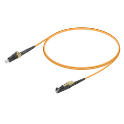 Samm Teknoloji - LC/UPC-E2000/UPC | Multi Mode G651.OM2 Simplex Patch Cord | 2.0mm