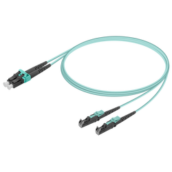 Samm Teknoloji - LC/UPC-E2000/UPC | Multi Mode G651.OM3 Duplex Patch Cord | 2.0x4.1mm