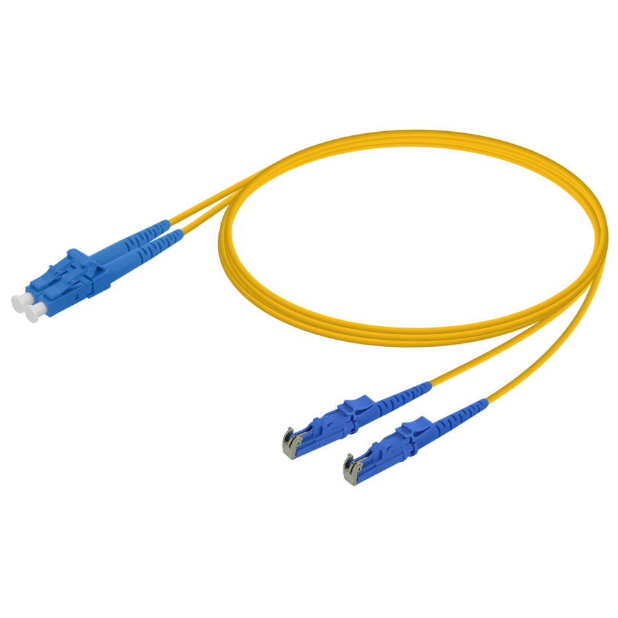 Samm Teknoloji - LC/UPC-LSH/UPC | Single Mode G657.A2 Duplex Patch Cord | 2.0x4.1mm