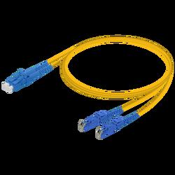 Samm Teknoloji - LC/UPC-E2000/UPC | Single Mode G657.A2 Duplex Patch Cord | 2.0x4.1mm