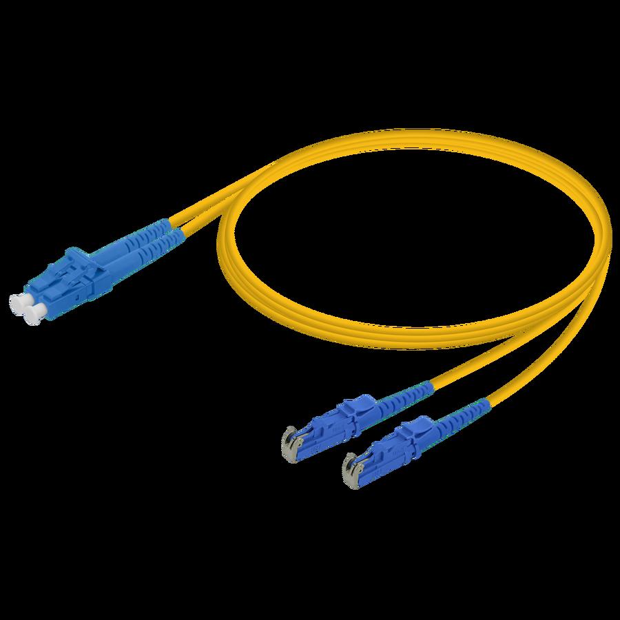 Samm Teknoloji - LC/UPC-LSH/UPC | Single Mode G657.A2 Duplex Patch Cord | 2.0x4.1mm