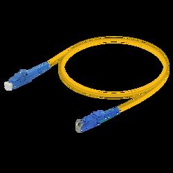 Samm Teknoloji - LC/UPC-E2000/UPC | Single Mode G657.A2 Simplex Patch Cord | 2.0mm