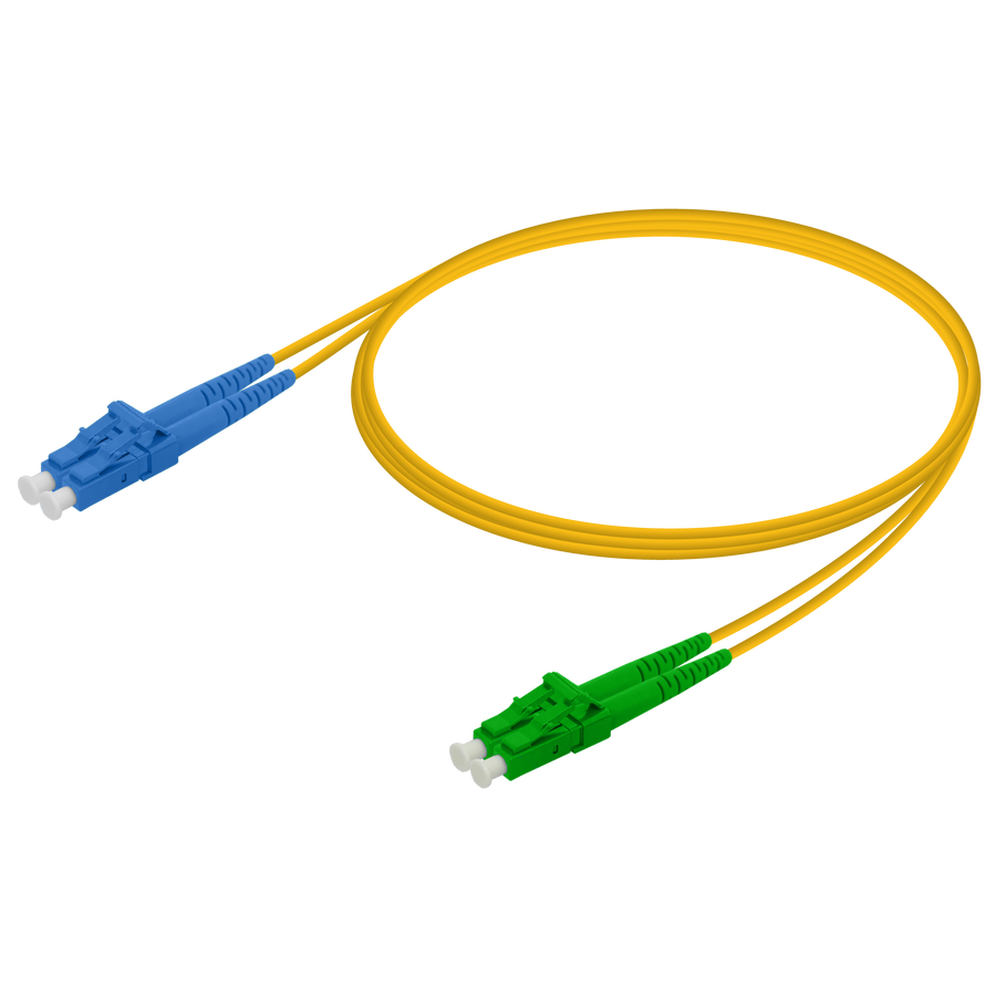 Samm Teknoloji - LC/UPC-LC/APC | Single Mode G657.A2 Duplex Patch Cord | 2.0x4.1mm