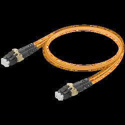 Samm Teknoloji - LC/UPC-LC/UPC | Multi Mode G651.OM1 Duplex Patch Cord | 2.0x4.1mm