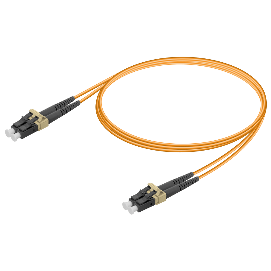LC/UPC-LC/UPC | Multi Mode G651.OM2 Duplex Patch Cord | 2.0x4.1mm