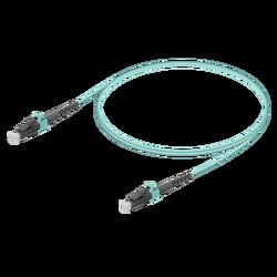 Samm Teknoloji - LC/UPC-LC/UPC | Multi Mode G651.OM3 Simplex Patch Cord | 2.0mm
