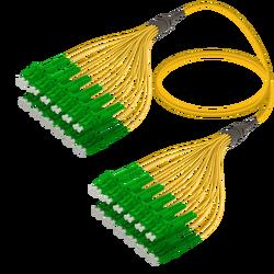 Samm Teknoloji - LC/APC-LC/APC | 24 Fibers Fanout | Single Mode G657.A2 | 3.0/1.8mm