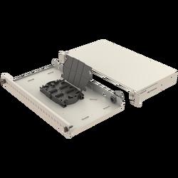 Samm Teknoloji - Mekanik Kızaklı | 1U Fiber Patch Panel | 24 Yuva | EFP16 (1)