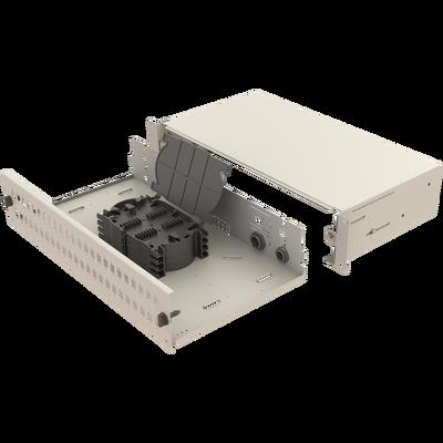 Samm Teknoloji - Mekanik Kızaklı | 2U Fiber Patch Panel | 48 Yuva | EFP21 (1)