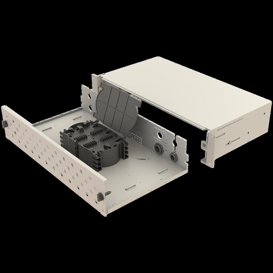 Samm Teknoloji - Mekanik Kızaklı   2U Fiber Patch Panel   48 Yuva   EFP23 (1)