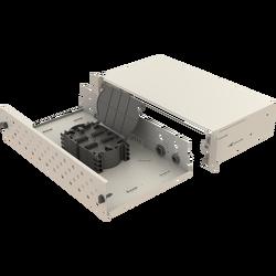 Samm Teknoloji - Mekanik Kızaklı | 2U Fiber Patch Panel | 48 Yuva | EFP23 (1)