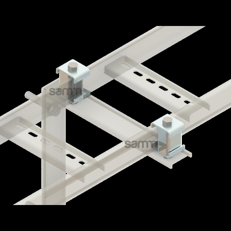 Samm Teknoloji - Merdiven | Sabitleme Kelepçesi Seti - M12 (1)
