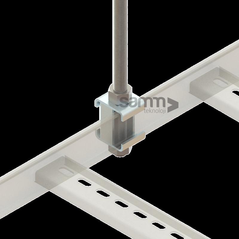 Samm Teknoloji - Merdiven | Tavan Askı Tij Seti (1)