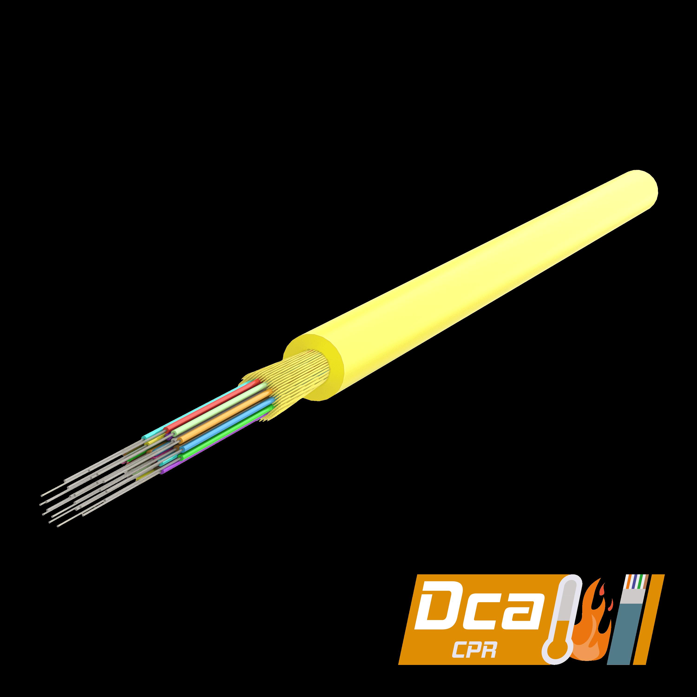 Samm Teknoloji - Multi-Fiber Distribution Kablo 3.0mm | I-(ZN)H 1x12 | CPR: Dca | 1000 metre