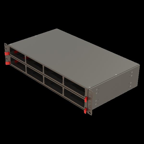 Samm Teknoloji - Modular High Density Panel   2U 8 Slots