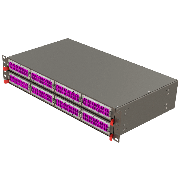 Samm Teknoloji - Modular High Density Panel   2U 8 Slots (1)